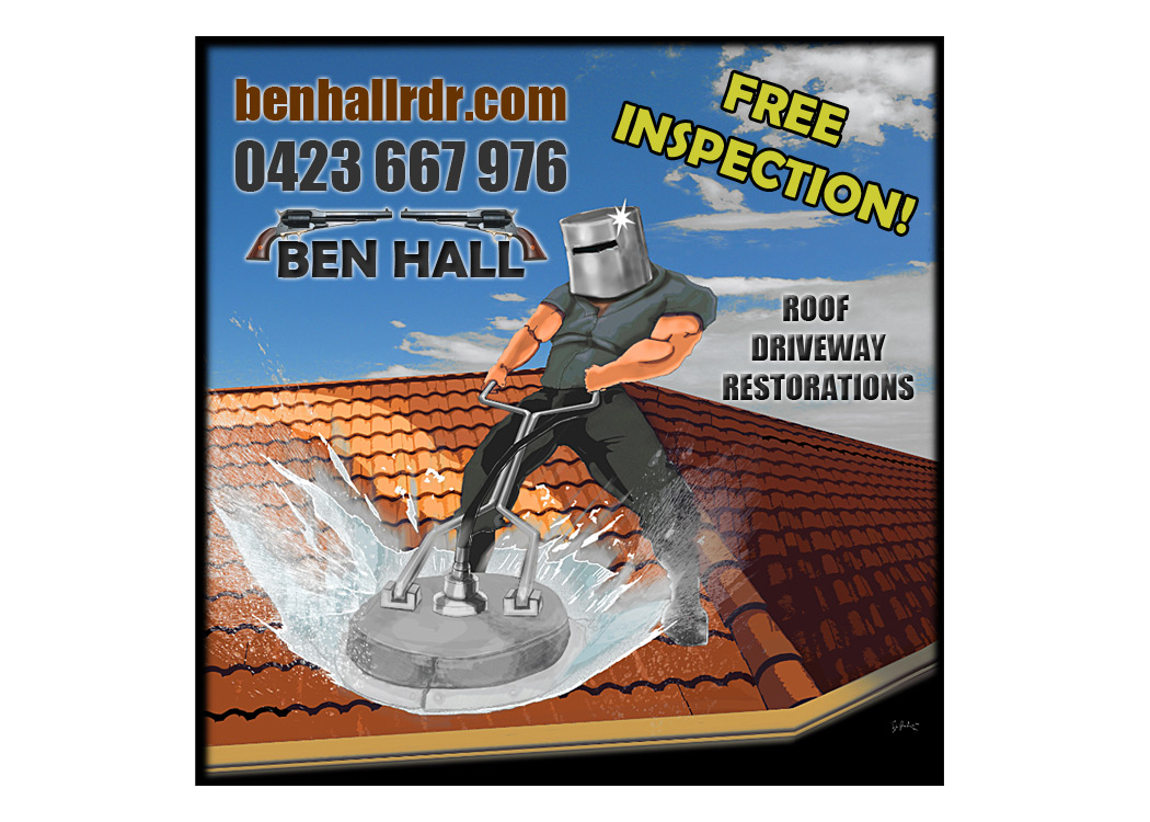 Ben Hall Roof Amp Driveway Restorations Port Macquarie
